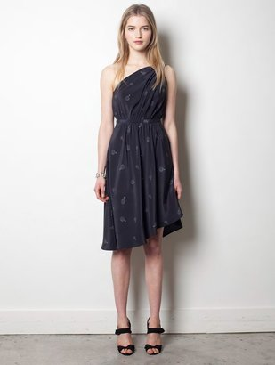 Band Of Outsiders One Shoulder Dress