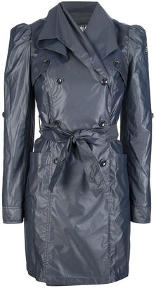Emporio Armani double-breasted trench coat