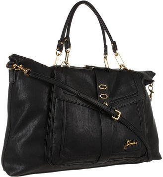 GUESS Tremont E/W Tote (Black) - Bags and Luggage