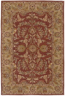 """Nourison MANUFACTURER'S Area Rug, India House IH58 Rust 2' 6"""" x 4'"""