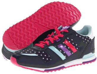 adidas Kids - ZXZ 700 (Little Kid/Big Kid) (Running White/St Stonewash Blue/Calvi) - Footwear