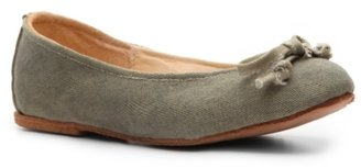 Vintage Shoe Company Morgan Canvas Flat