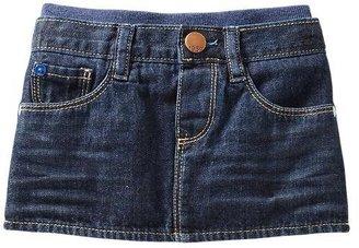 Gap Pull-on denim mini skirt