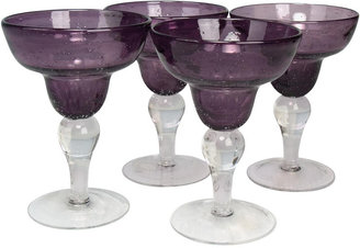 Artland Iris Set of 4 Margarita Glasses