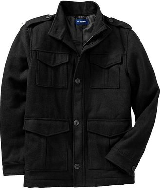Old Navy Men's Wool-Blend Military Style Jackets