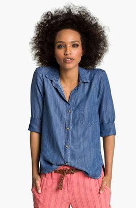 Cloth & Stone Slouchy Chambray Shirt
