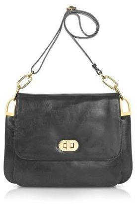 Badgley Mischka Coralie Shine - Leather Shoulder Bag