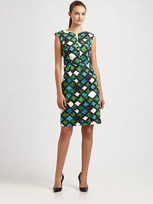 Milly Peggy Notch Dress