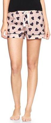 Gap Printed poplin shorts