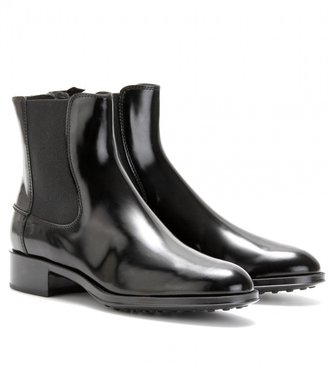 Tod's BOXCALF CHELSEA BOOTS