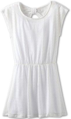 Ella Moss Lucia Dress (Big Kids) (Cream) - Apparel