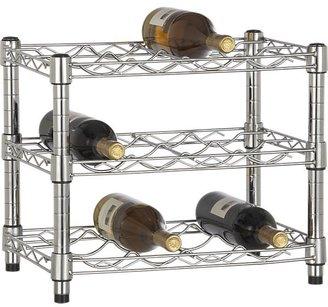 Crate & Barrel Work 12-Bottle Stacking Wine Rack