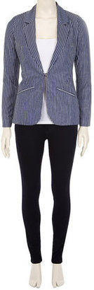 Dorothy Perkins Blue pin stripe blazer