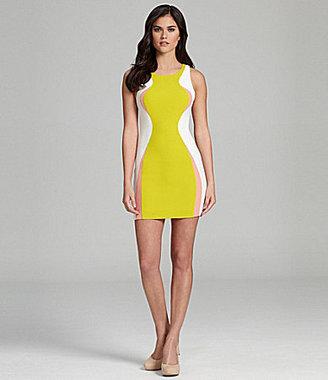 Gianni Bini Lorel Bodycon Colorblock Dress