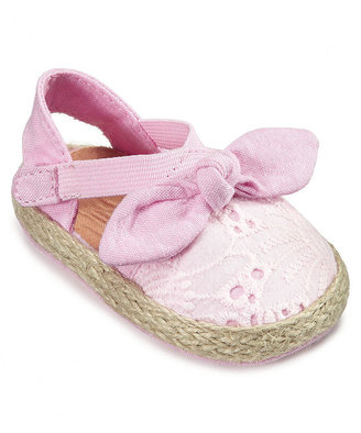 First Impressions Baby Shoes, Baby Girls Eyelet Espadrilles