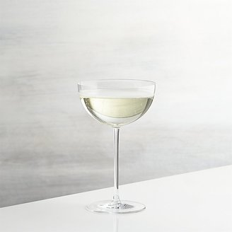Crate & Barrel Camille Champagne Coupe Glass