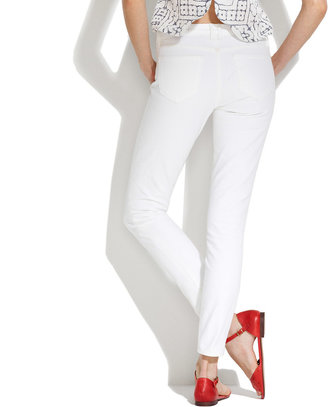 Madewell Skinny Skinny Ankle Jeans in Optic White