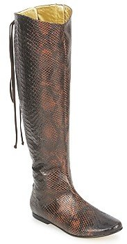 French Sole PRINCE women's High Boots in Brown