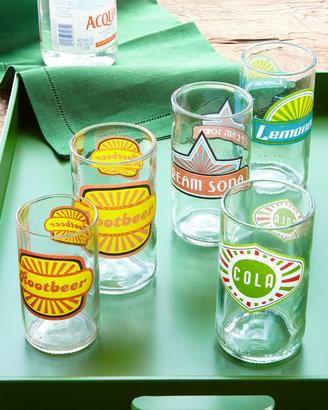 """Horchow """"Fun in the Sun"""" Glassware"""