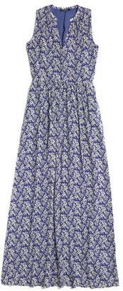 Madewell Silk Maxidress in Daisy Tumble