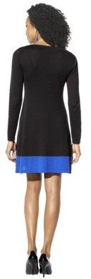 Ultrasoft Mossimo® Women's Colorblock Sweater Dress - Assorted Colors