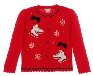 Hartstrings Baby Girls Cotton Sweater Cardigan