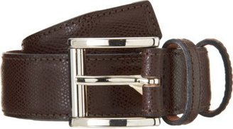 Barneys New York Grained Belt