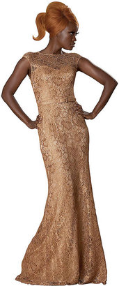 Theia Gold Gown