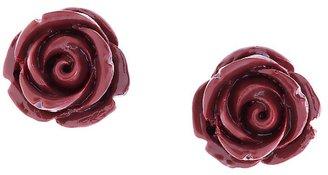 Brooks Brothers Rose Stud Earrings