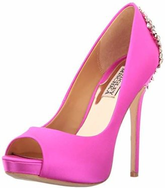 Badgley Mischka Women's Kiara Platform Pump $245 thestylecure.com