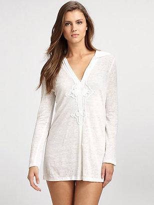 Joie Hooded Linen Tunic