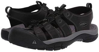 Keen Newport (Black/Steel Grey) Men's Shoes