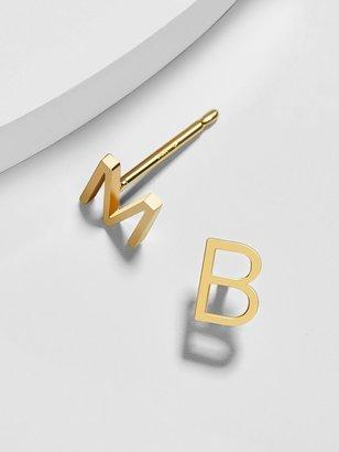 BaubleBar Maya Brenner Alphabet Stud Earring
