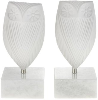 Jonathan Adler Owl Bookends - Set of 2