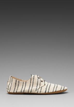Anniel Soft Lux in Cream/Black Stripe