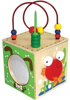 Green Baby Discovery Box