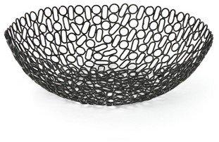 Vue Loop Bowl 30x30x9.25cm  Black