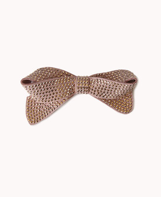 Forever 21 Studded Bow Clip
