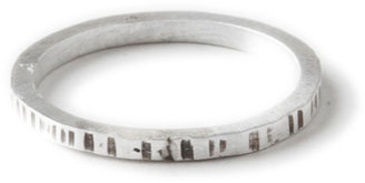 Dana Reed Etched Stacking Ring