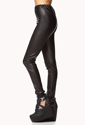 Forever 21 Faux Leather Skinny Pants