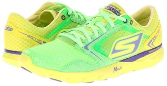 Skechers Performance - GO Run - Speed (Grey/Lime) - Footwear