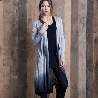 One Grey Day Sundance Cardigan Gray