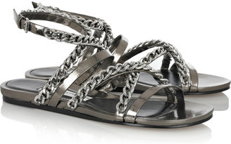 Camilla Skovgaard Chain-embellished leather sandals