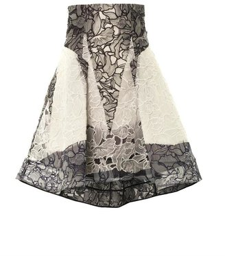 Peter Pilotto Radical orchid lace skirt