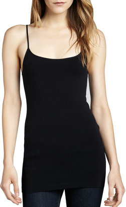 Neiman Marcus Cusp by Knit Jersey Camisole, Black