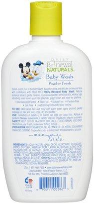 Green Baby New Windsor Disney Baby Daily Renewal Baby Wash - Powder Fresh - 12 oz