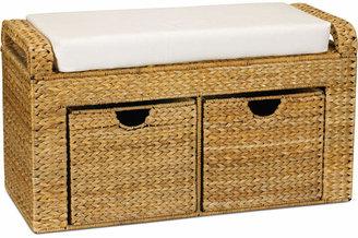 Household Essentials Cushioned Storage Bench