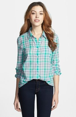 Caslon Cotton Blouse (Regular & Petite)