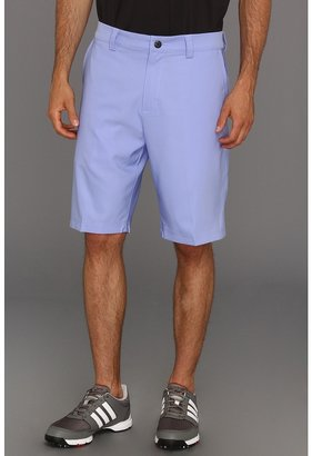 adidas CLIMALITE Flat Front Short (Periwinkle) - Apparel