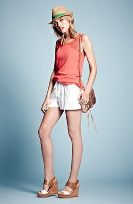 Caslon Drawstring Linen Shorts (Regular & Petite)